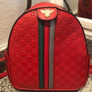 Gucci designer dupe Backpack